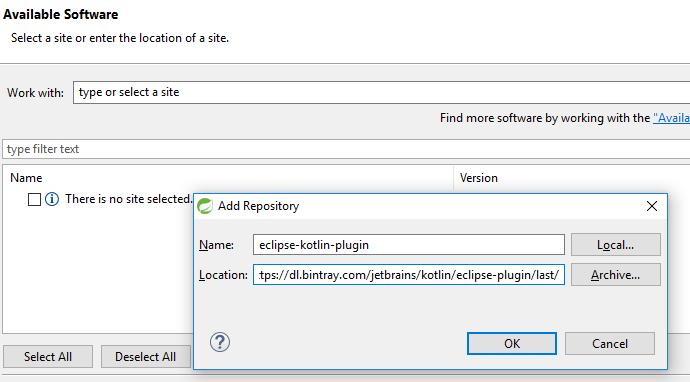 springboot kotlin helloworld - add kotlin plugin for eclipse